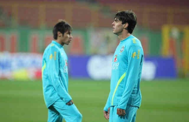 "Neymar on Kaka:"" He is a legend!"""