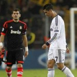 Ronaldo disappointed with lose against Borussia Dortmund at the Champions League