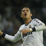 Ronaldo with a hat-trick and believes to beat Barcelona at the Nou Camp