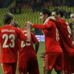 Russia continue to bring victory in their group as they win against Azerbaijan