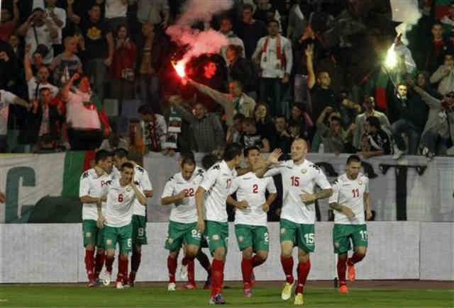 The Bulgarians ended up with a draw with Denmark