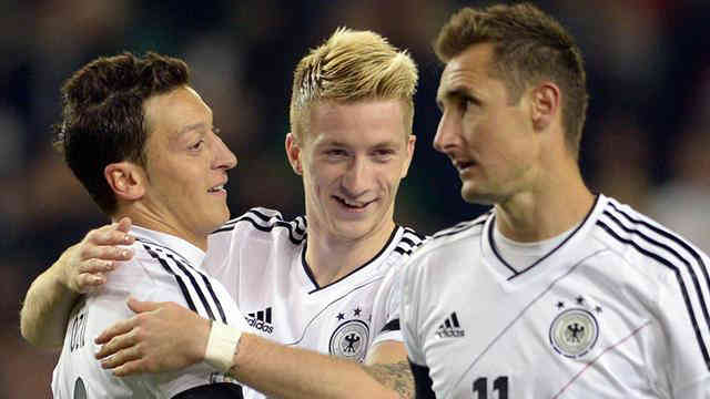 The Germans went with a mission and gave it a mission of success against Ireland