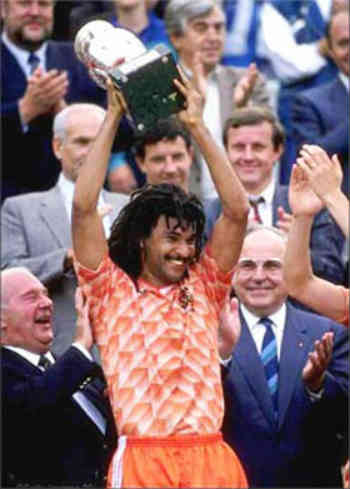 The legendary Ruud Gullit