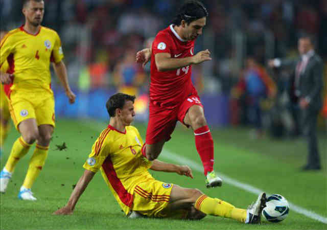 Turkey have beaten by the Romanians