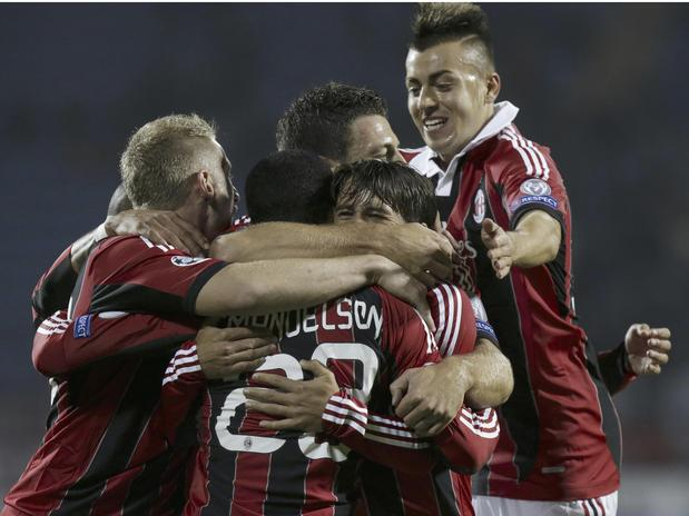 Zenit St. Petersburg concealed an own goal making AC Milan getting the chance to get a victory over the Russian club team