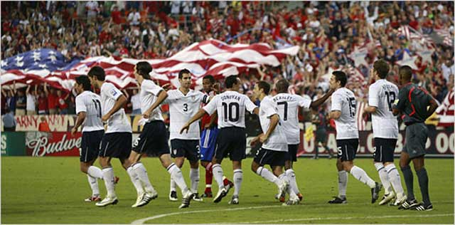 USA advance to final round of qualifying for the World Cup Finals