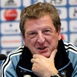 A cheerful Roy Hodgson despite the loss