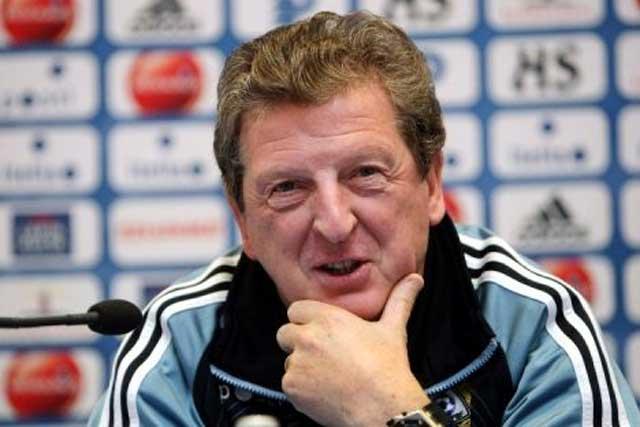 A cheerful Roy Hodgson despite the loss