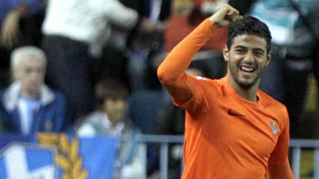 Carlos Vela brings his team a victory against Malaga