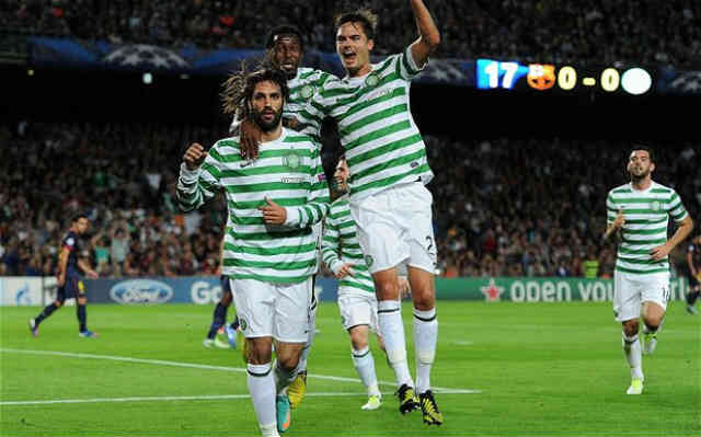 Celtic came to reedem their match and shocked the world by beating Barcelona at the Champions League play off