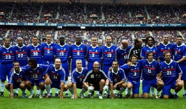 France won their first and only World Cup trophy at home in the late 1990's. Zinedine Zidane and Emmanuel Petit scored the goals in a 3-0 victory over Brazil in the final that year.