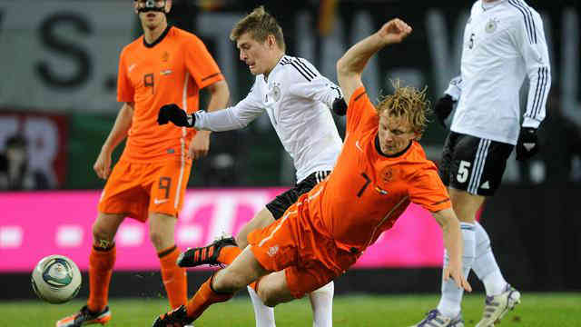 Germans and the Dutch clash but ends in a draw