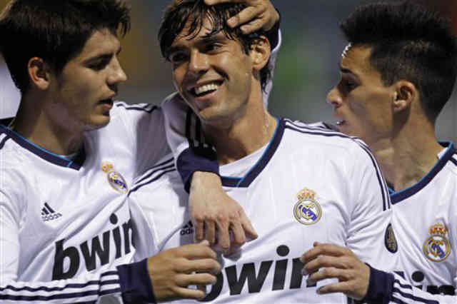 Kaka shows clear signs that he is back and bringing football back on the pitch
