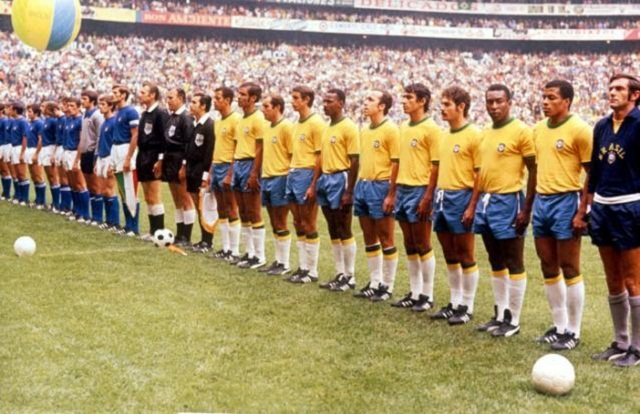 Many great Brazilian teams have since competed but none like the one of Pele, Rivelino and Jairzinho who all scored in the 4-1 victory over  Italy.