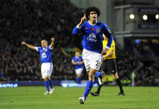 Marouane Fellaini is proving to people that he has what it takes to be a top goal scorer as Everton win against Sunderland