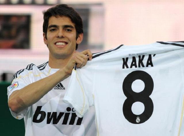 Ricardo Kaka – € 65 million