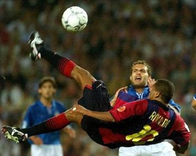 Rivaldo is in our Top 10 for the best bicycle kick ever