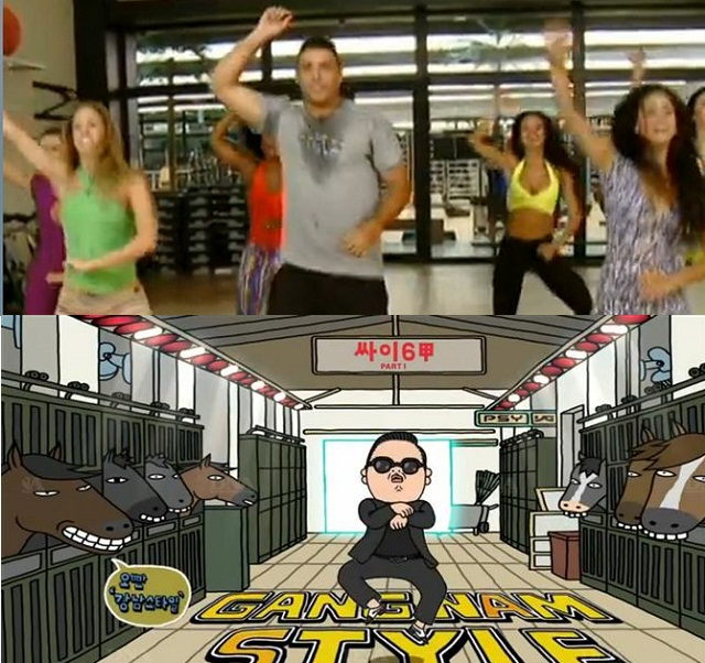 Ronaldo dances 'Gangnam Style'