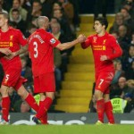 Suarez maanged to save Liverpool and bringing them a draw
