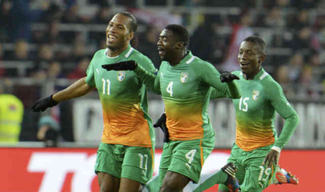 The Africans elephants beat the Austrian with a big score in their friendly