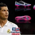 The new shoes of Cristiano Ronaldo