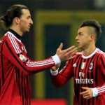 AC Milan Stephan El Shaarawy, Zlatan Ibrahimovic is stronger already!