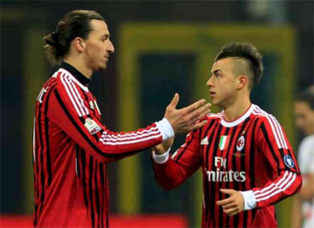 Zlatan Ibrahimovic gets stronger in Paris St Germain but Stephan El Shaarawy has proven to be the key for AC Milan