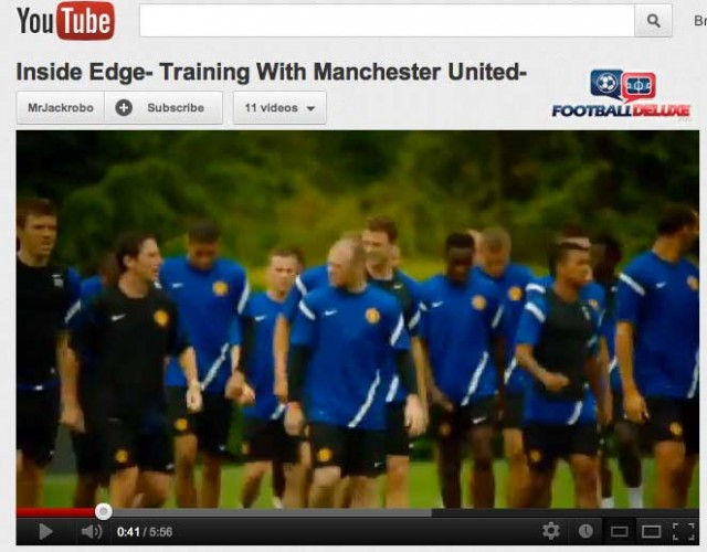 Manchester United Training Video