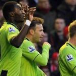 Aston Villa brings victory at the Anfield stadium