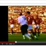 Cristiano Ronaldo making his Manchester United debut