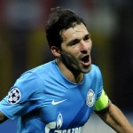 Danny scored the goal of the game as Zenit beat AC Milan 1-0 at the San Siro.