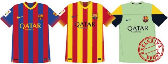 fc barcelona jerseys for the 2013 2014 season already unveiled football deluxe football deluxe