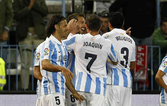 Malaga seem to show the La Liga team that they are rising