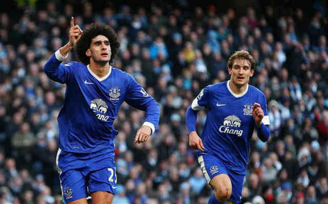 Manchester City struggled with Everton as they get their one point
