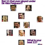 What is the best 11 that ever played for Manchester United under Sir Alex Ferguson