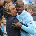 Roberto Mancini giving Mario Balotelli another chance