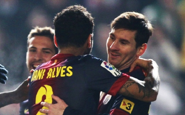 Messi scored twice against Cordoba to bring his tally to 88 goals and break his own record