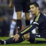 Real Madrid fell to a first leg defeat against Celta Vigo in the Copa del Rey despite Cristiano Ronaldo's late goal