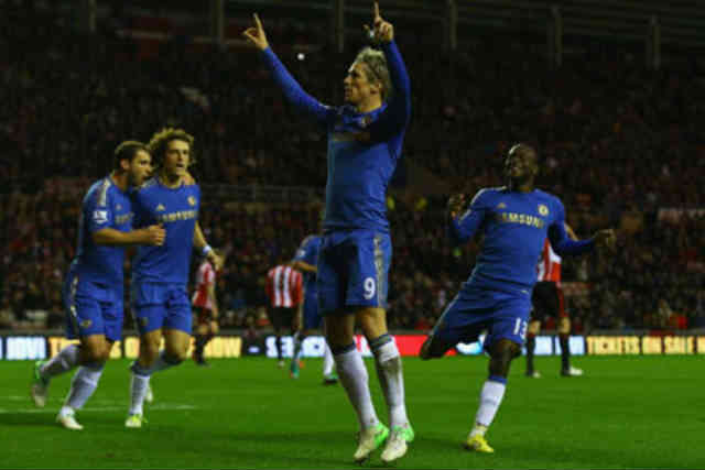 Torres has woken up and saved his team on Saturday with bringing goals back to Chelsea