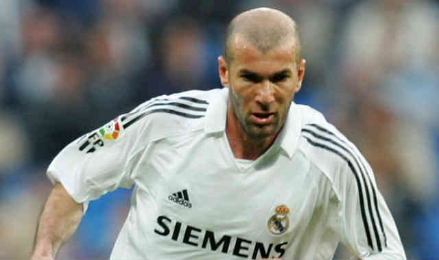 Zinedine Zidane showed class when once came on the pitch to play