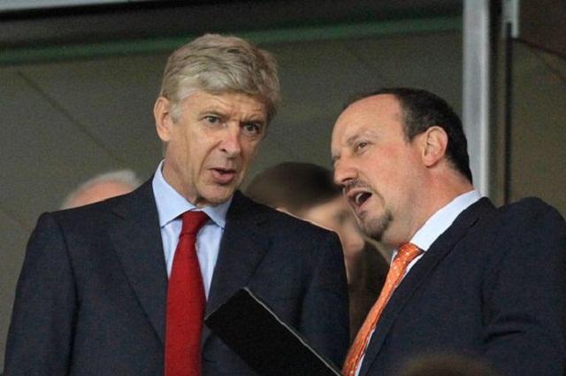Arsenal manager Arsene Wenger admits he feels sympathy towards Chelsea boss Rafael Benitez.