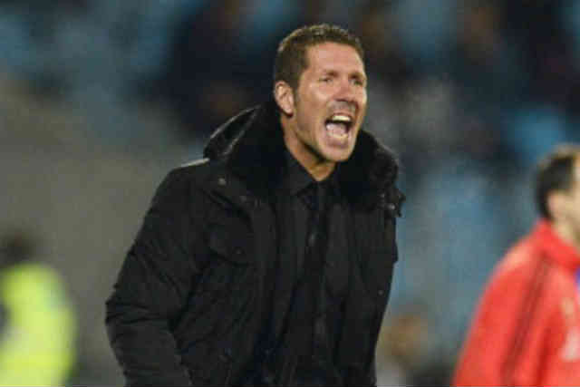Atletico Madrid manager frustrated with the lose of his team