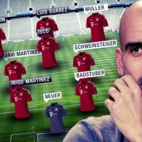 Bayern Munich put 278 million at Guardiola's disposal to bring new players, this is how the team could look like
