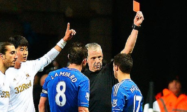 Chelsea failed to conjure up a winning performance tonight, in a match that will be remembered for an acrimonious off-field incident involving Eden Hazard and a Swansea ballboy.
