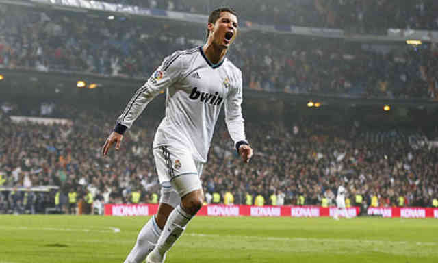 Cristiano Ronaldo celebrates his hat trick against Celta Vigo and forgets about the Ballon d'Or and moves on to get better