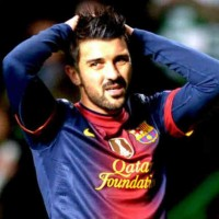 David Villa has showed his frustration and the Spanish player now wants to leave Barcelona for a club where he can play