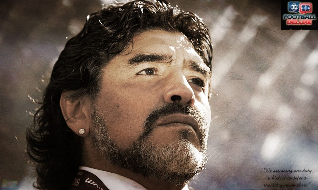 Diego Maradona- 'We are doing our duty, which is to defend the Argentinian shirt'