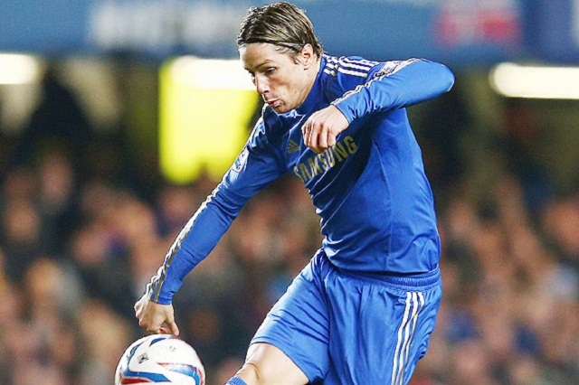Fernando Torres scored with seven minutes left as Chelsea twice came from behind to draw 2-2 with League One side Brentford.