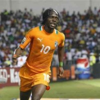 Gervinho gets the finishing goal with Ivory Coast and bringing victory in the last two minutes
