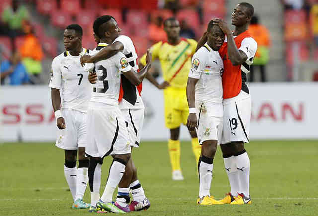 Ghana got their pay back after a drew they had with DR Congo